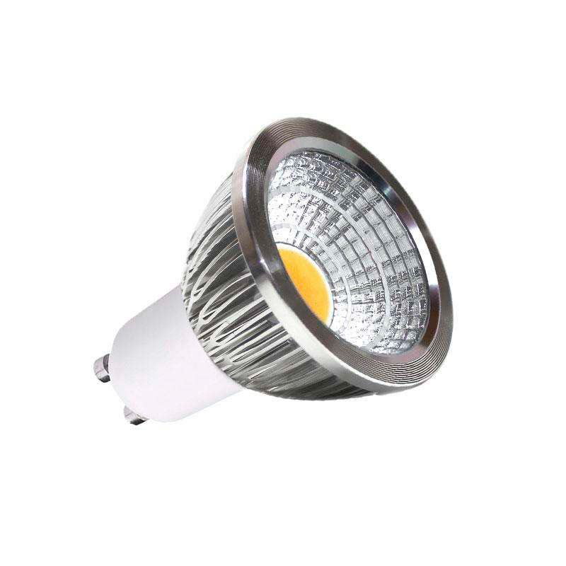 Bombilla LED GU10 COB 5W, Blanco neutro